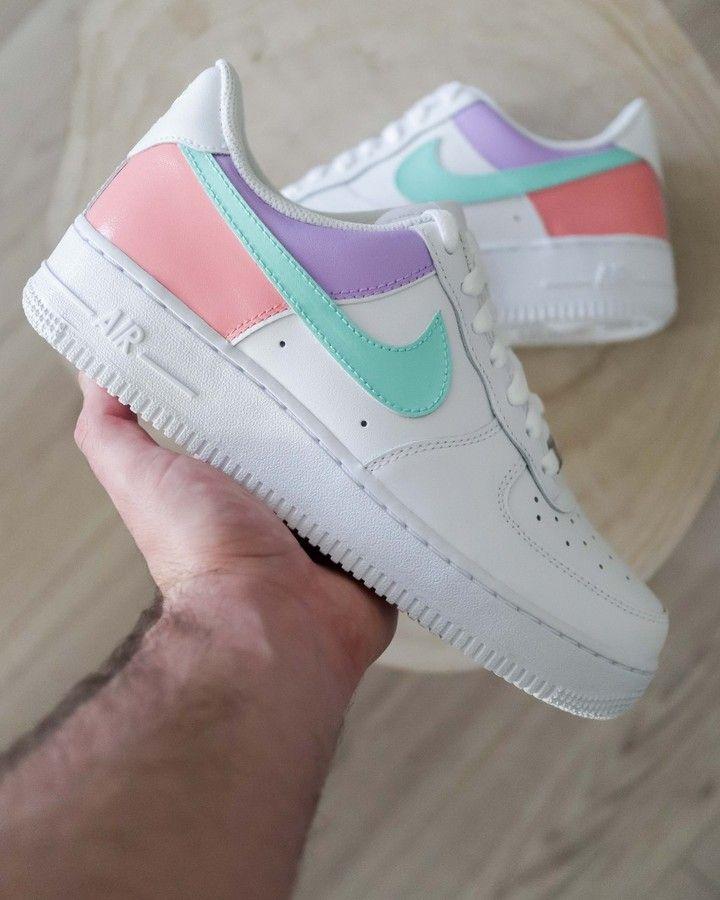 """sneakeaze_customs on Instagram: """"AF1 Color Block - All sizes ..."""