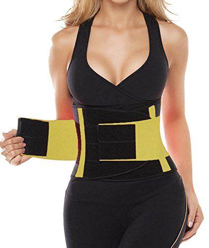 9333c2db3c DILANNI Women Waist Trainer Cincher Belt Fitness Body Shaper For An  Hourglass Shaper