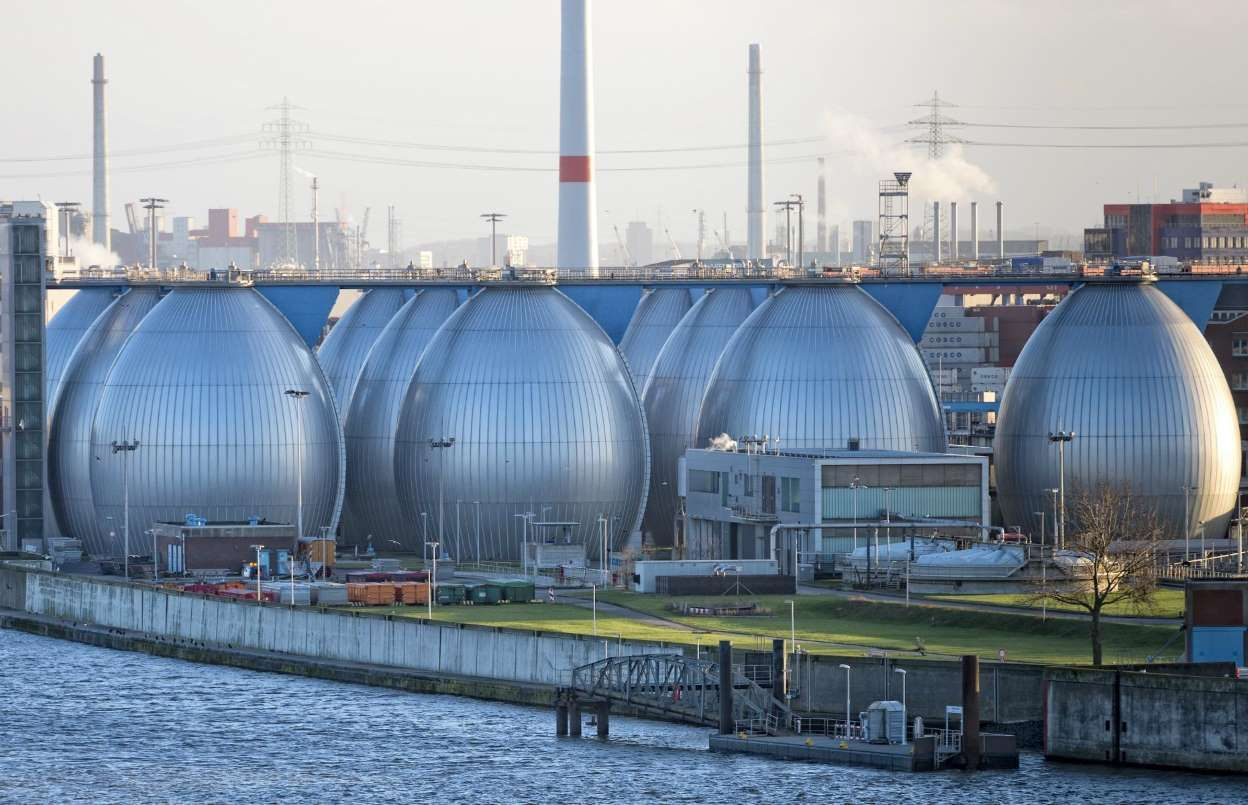 Desalination plants like this one in Hamburg might be the