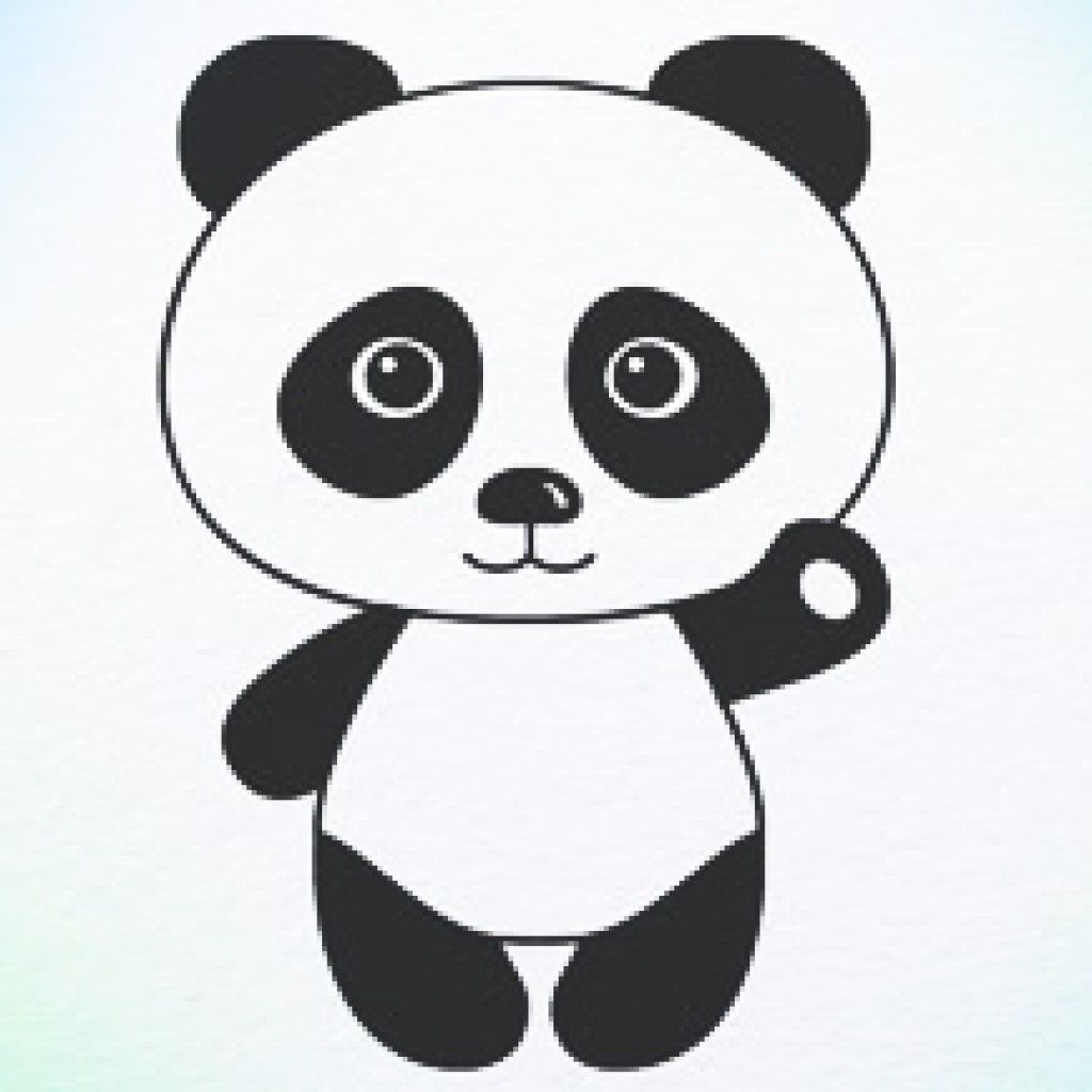 how to draw panda bear panda crafts panda drawing panda drawings