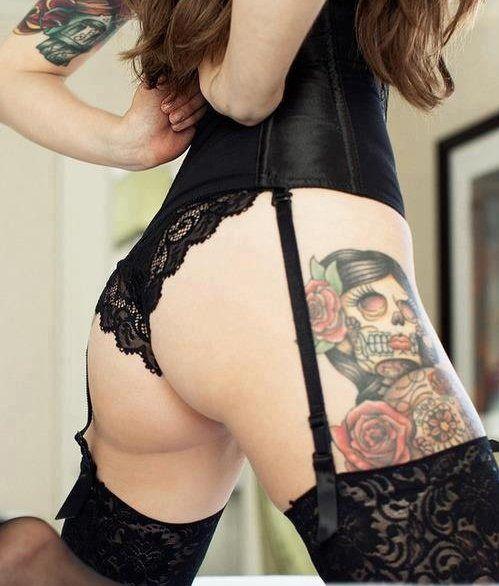Super hot ass tattoo