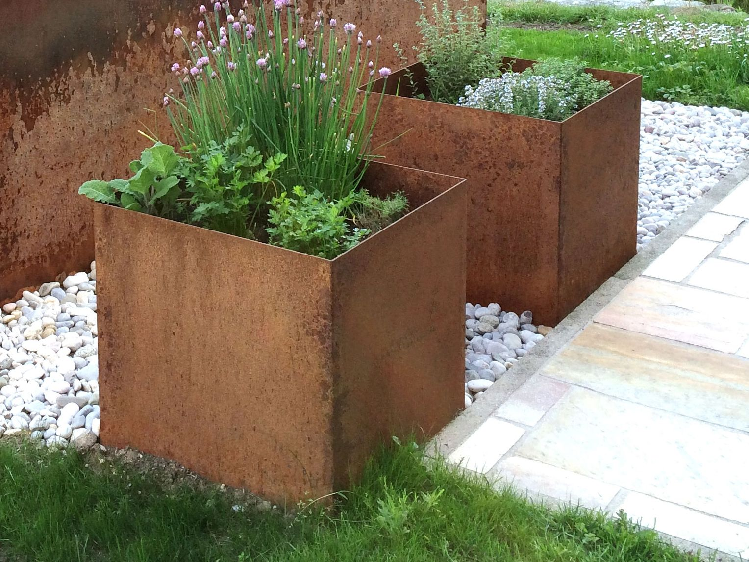 Pflanztrog Quadratisch Pflanzen Outdoor Pflanzen Garten Hochbeet