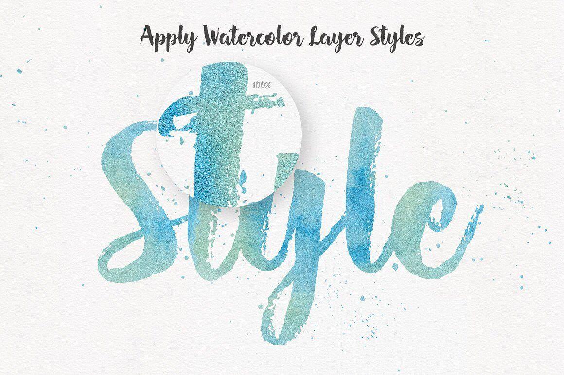 Aquaflow Watercolor Generator Dizajn Broshyury Broshyura Dizajn