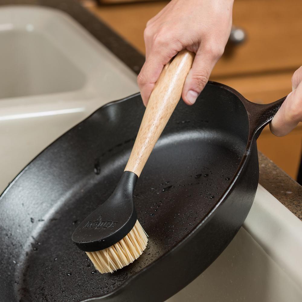 Lodge Cast Iron Skillet Scrubber Brush