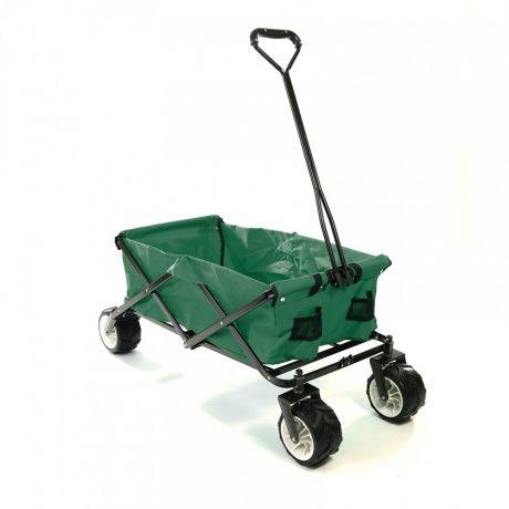 Samax Bollerwagen Offroad Grun Ma Trading Wheelbarrow Garden Hand Cart Wheelbarrow