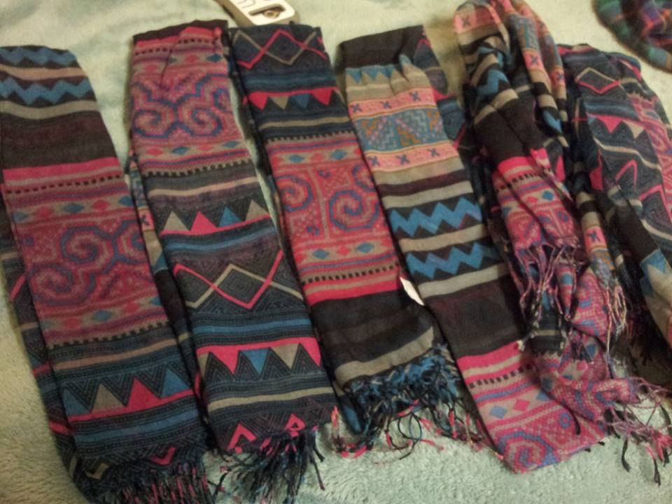 Ladies, go grab your Hmong scarf @ Walmart. | Hmong Inspired (or ...