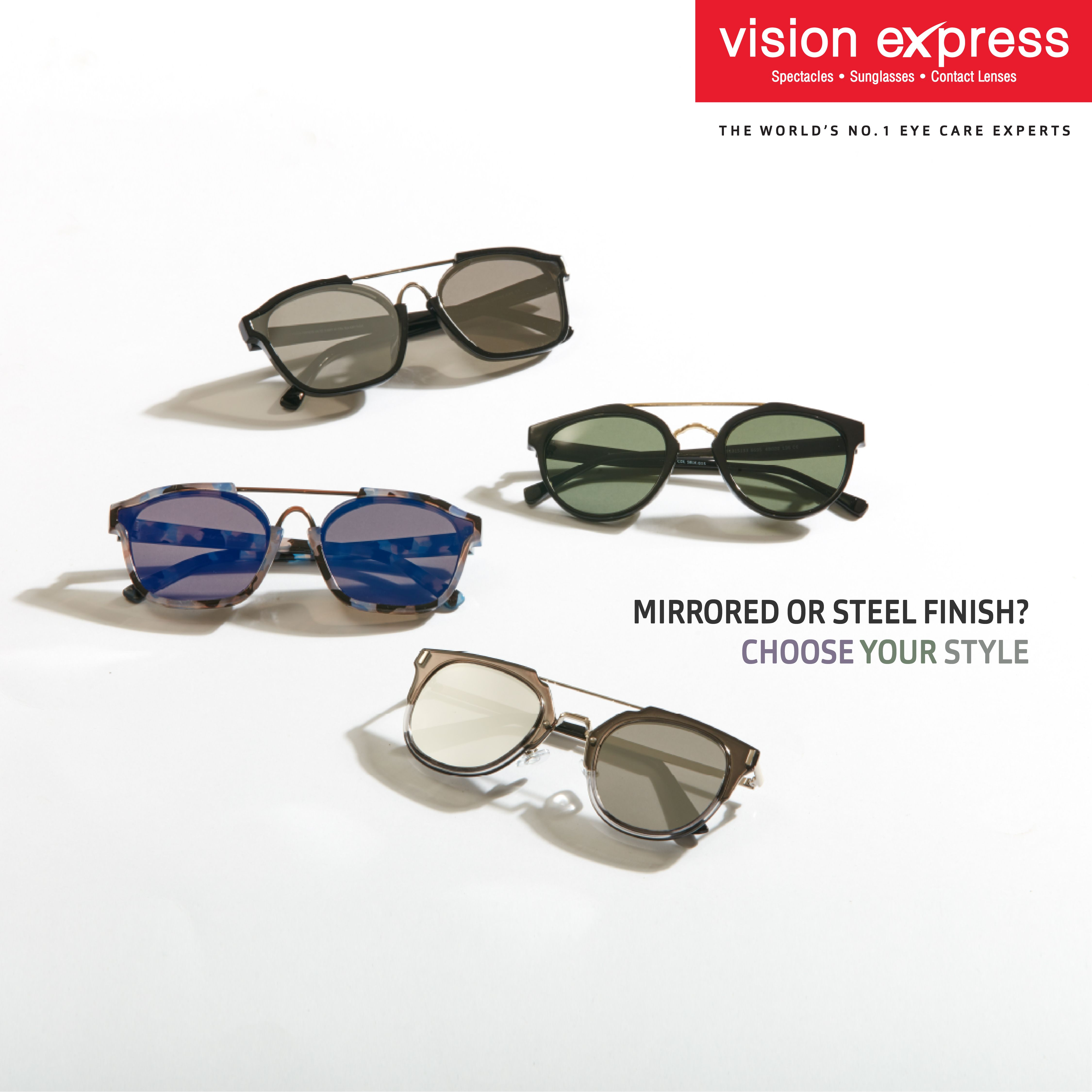 e5e76110206 Get the latest Browline Round Sunglasses from Vision Express.  Sunglasses   Style  Eyewear