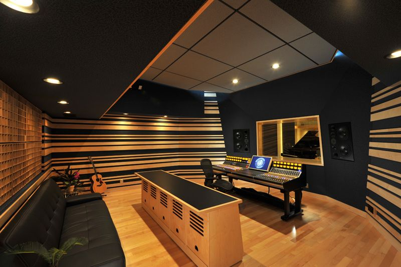Recording Studio Designed By Wes Lachot Design Group