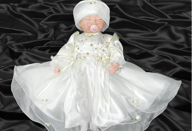 Kleidung Taufe Baby, Niedlich Und Liebenswert Baby Kleidung, Perfekt ...