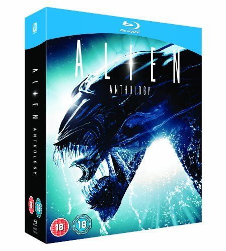 Own Alien Quadrilogy On Dvd 1979 Anthology Film Boxset Blu Ray