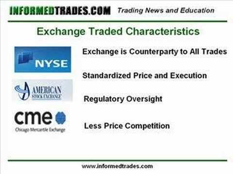 Options exchange traded or otc