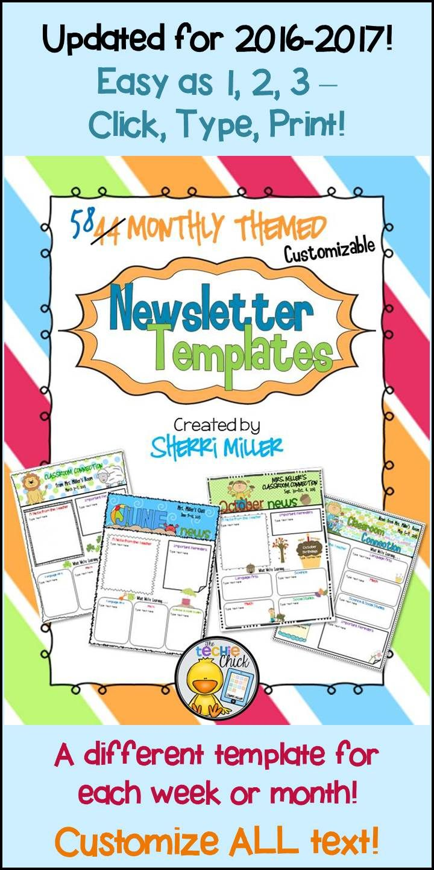 Newsletters For The Year   Seasonal Themed Newsletter