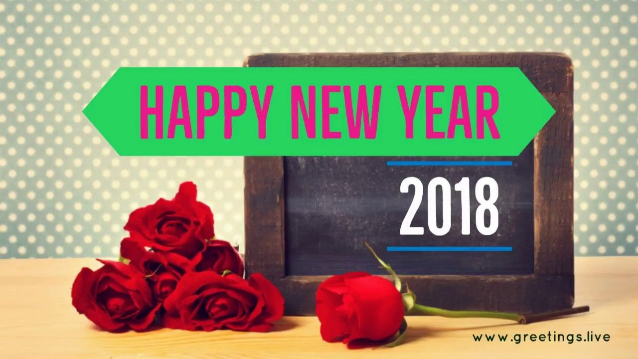 Creative greetings on new year 2018 concept from greetingsve creative greetings on new year 2018 concept from greetingsve kristyandbryce Choice Image