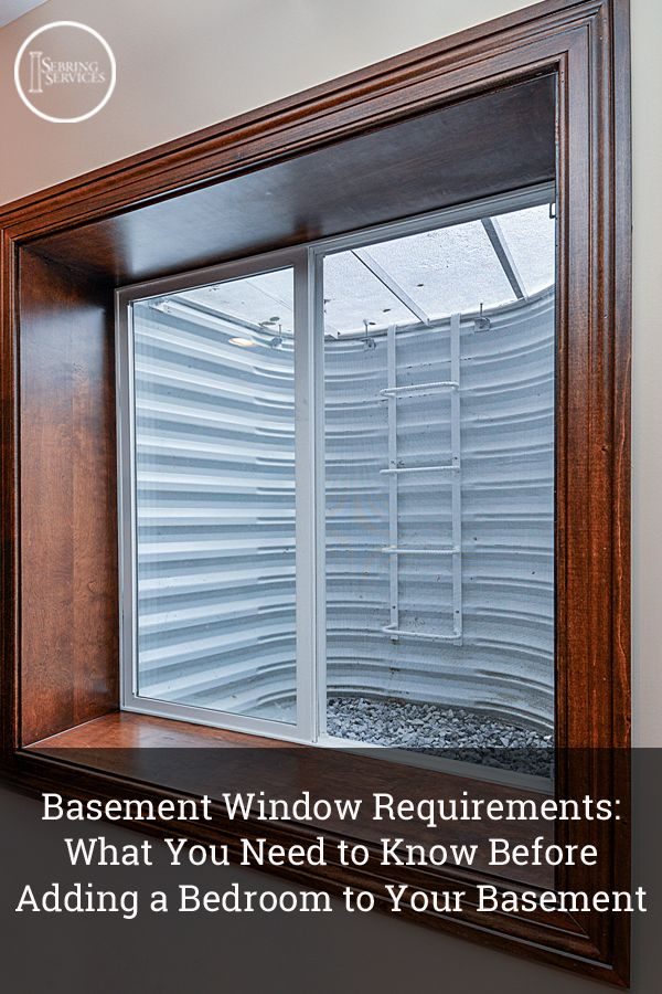 Basement Window Requirements What You Need To Know Before Adding A Bedroom  To Your Basement