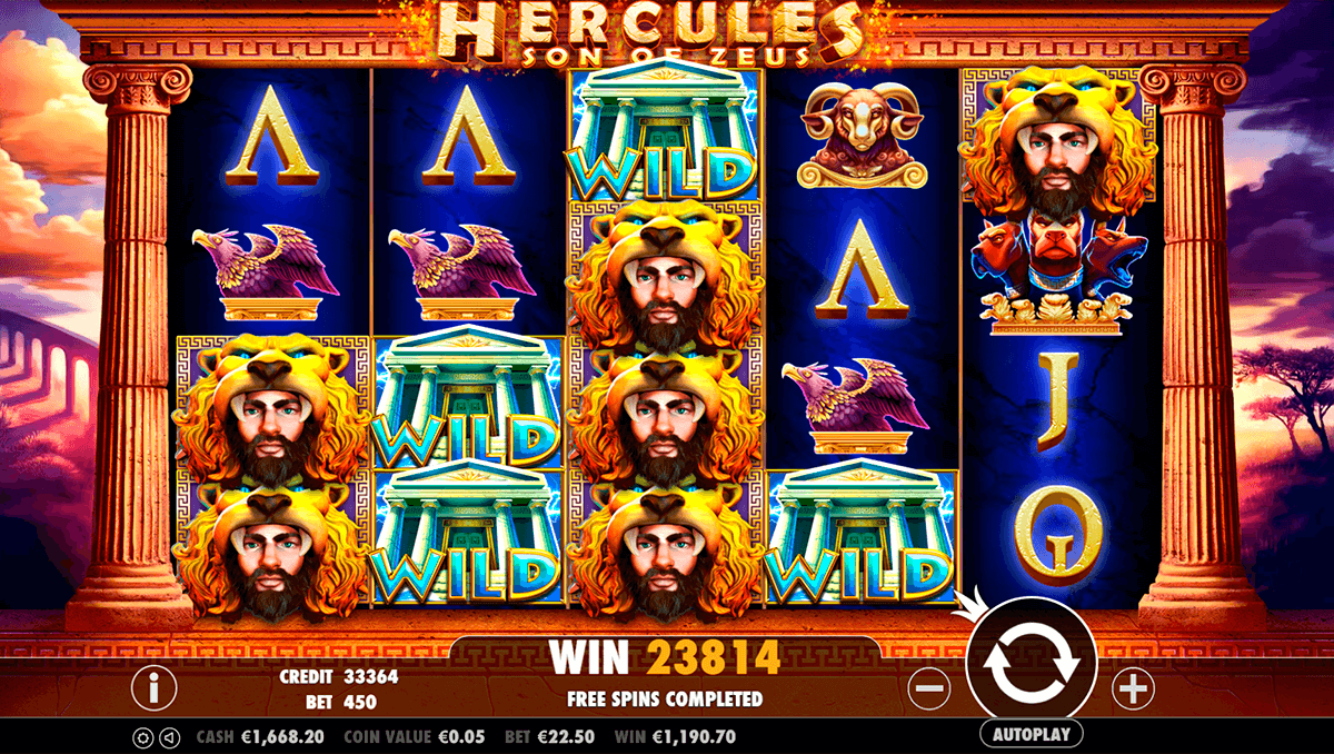 Hercules son of zeus now available at playboy888 Casino! Start playing now: