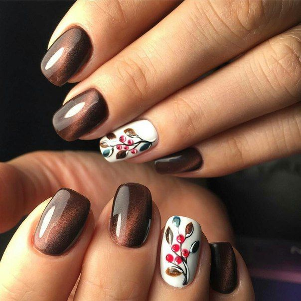 30 Best Nails Highlight Colors Special Design For Fall 2017