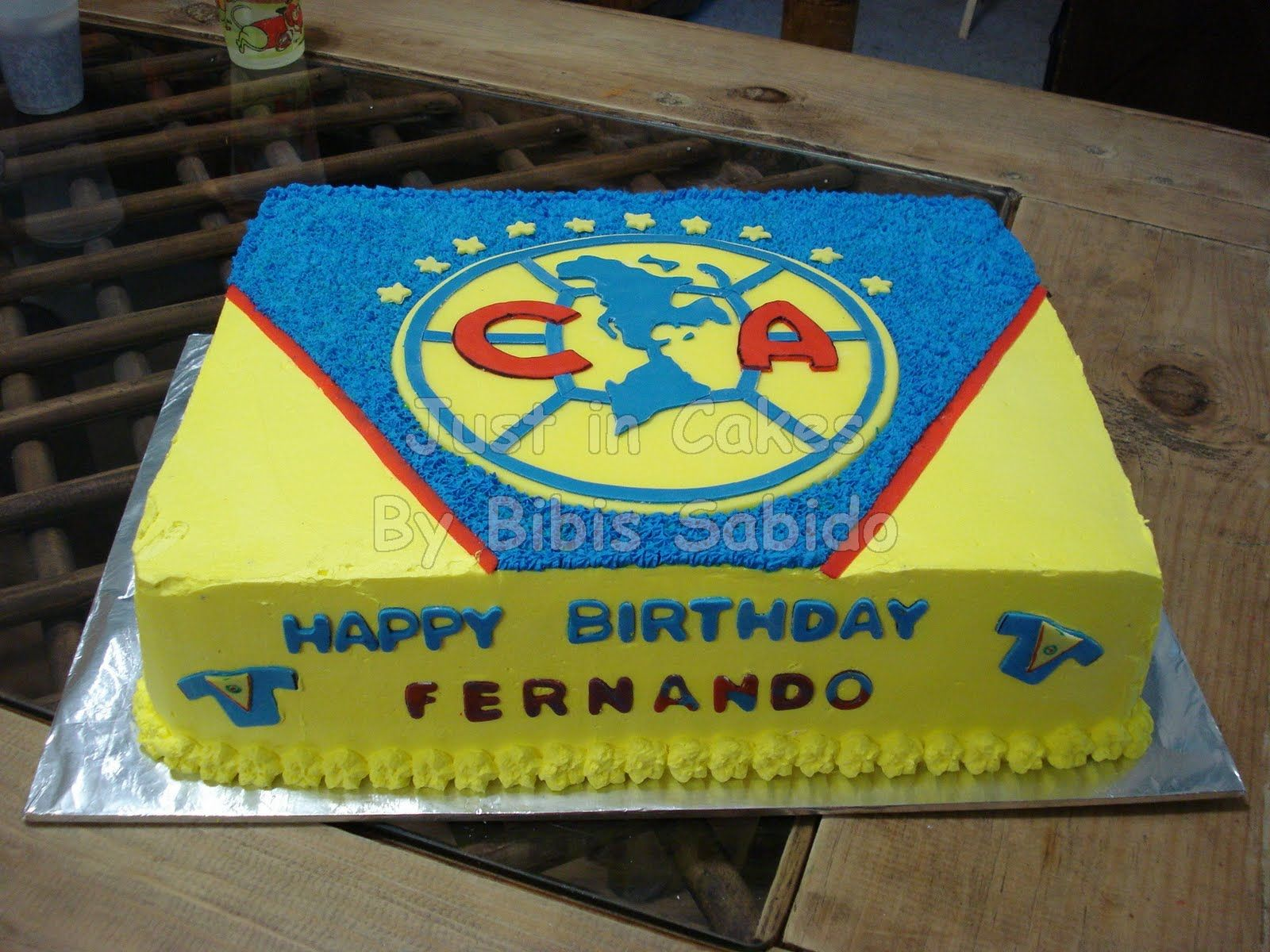 Just In Cakes Club America Cake Cakes Pinterest Club America