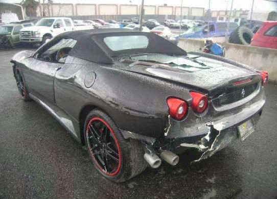Pin On Smashed Ferrari S
