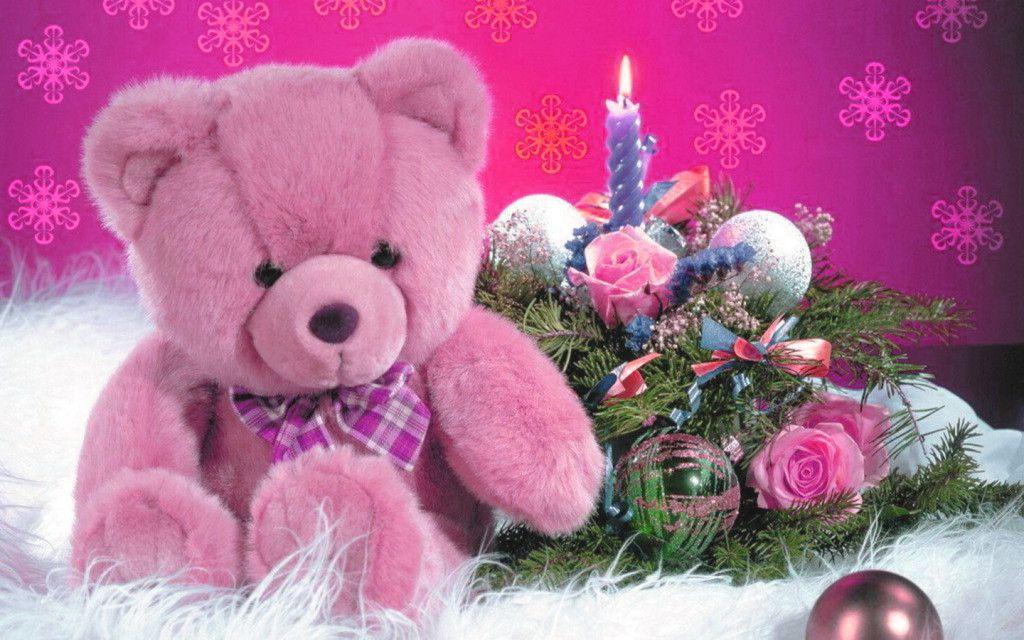 Cute Pink Teddy Bear Wallpaper Wallpapers Teddy Bear Cute Teddy