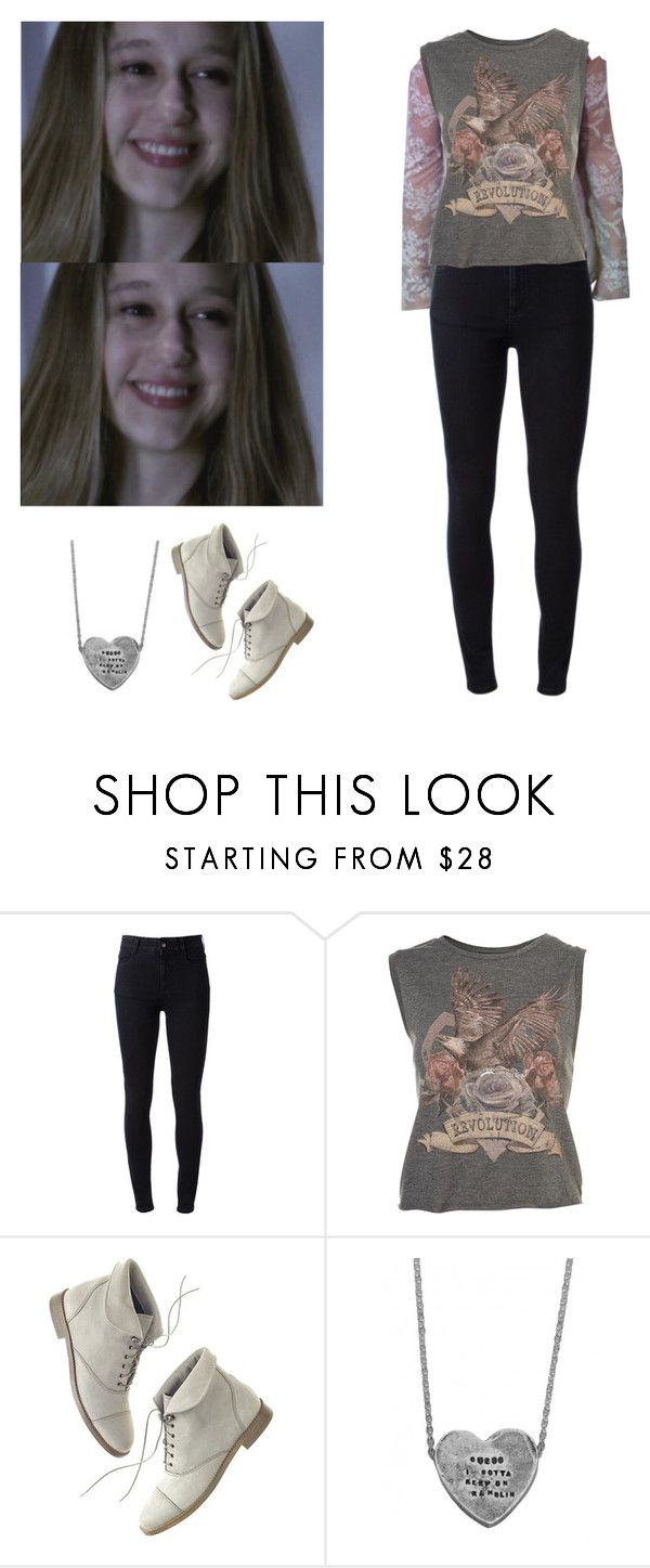 """Violet Harmon - american horror story / ahs"" by shadyannon ❤ liked on Polyvore featuring STELLA McCARTNEY and Madewell"