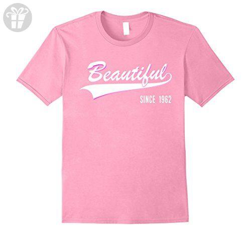 Mens 55th Birthday gift shirt Beautiful since 1962 55 year old 2XL Pink - Birthday shirts (*Amazon Partner-Link)
