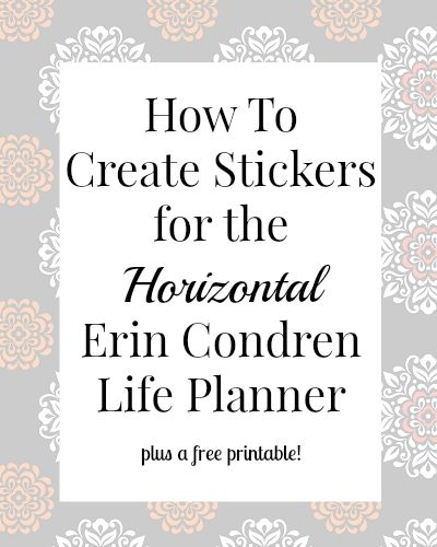 For my first spread in my new life planner i wanted to create my own stickers which is something that i had never done before i recently got a ho
