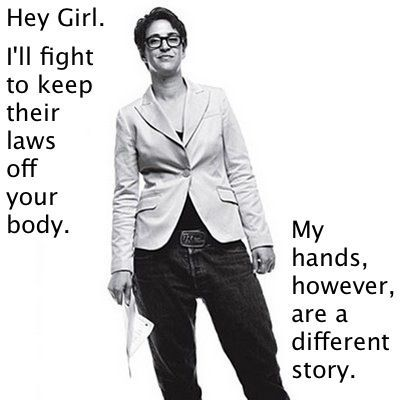 Why have I only now come across the Rachel Maddow Hey, Girl??