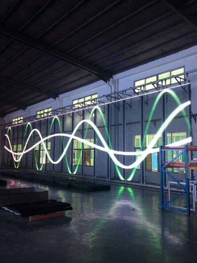 Leeman Hot Selling Led Glass Window Screen Transparent Led