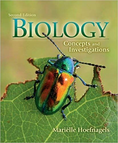 Solution Manual for: Title: Biology Concepts and ...