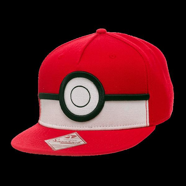 Pokemon Pokeball Cap Zing Pop Culture Pokemon Cap Snapback Pokemon