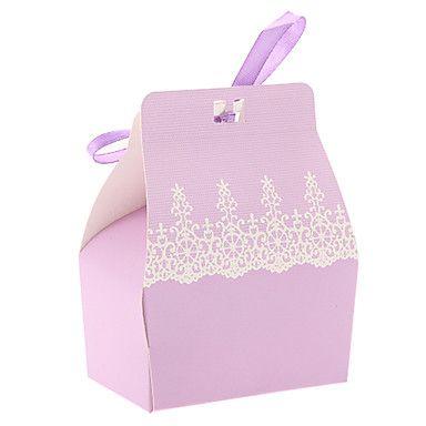 Cajas de regalos ( Lila/Rosado , Papel de tarjeta ) - Tema Clásico – EUR € 1.49