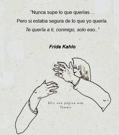 Resultado De Imagen De Frida Kahlo Tumblr Frases De