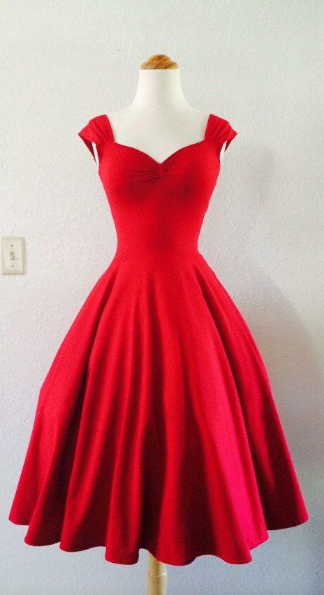 2f631cb95a1e Vestido largo por arriba de los pies rojo | VESTIDOS SOFISTICADOS ...