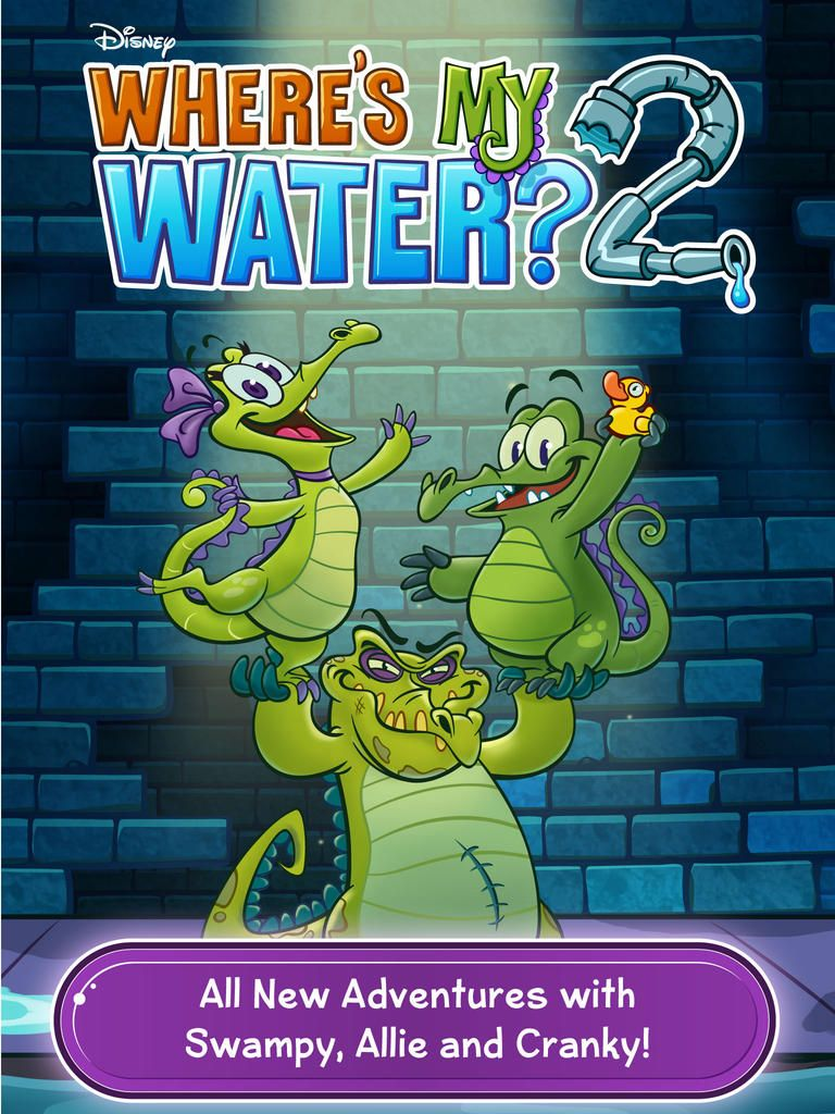 Where's My Water? 2 Review AppWereld Where's my water