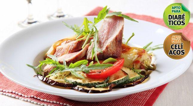 Carne al horno con berenjenas - Suat .:. Emergencia M�vil