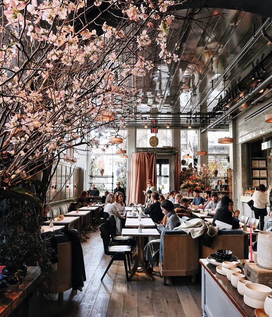 If You Didn T Gram It Were You Really There We All Love Photogenic Spots So Here Are The 16 Most Instagrammable Restaurants In Nyc Interieur Stijl