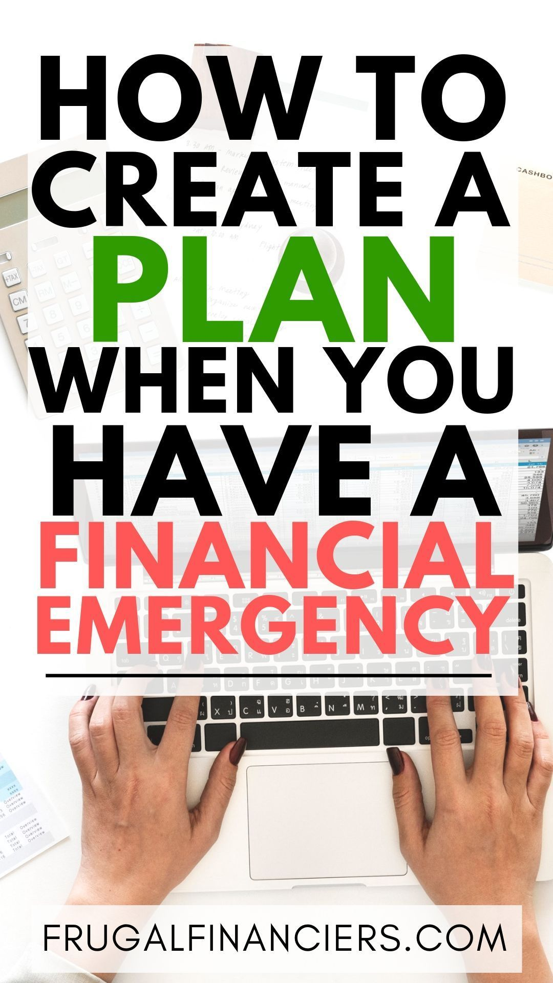 How to plan for a emergency if you dont have an emergency