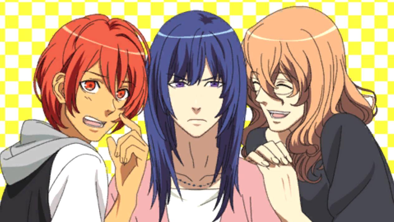 Otoya, Masato y Natsuki, después de perder la competencia de Water Polo