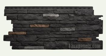 Nailon Stone Wall Plus Lewiston Crest Panel W 44 1 2 H 19 1 2 3 4 Thick In 2020 Stone Siding Exterior Stone Wall Exterior Panel Siding