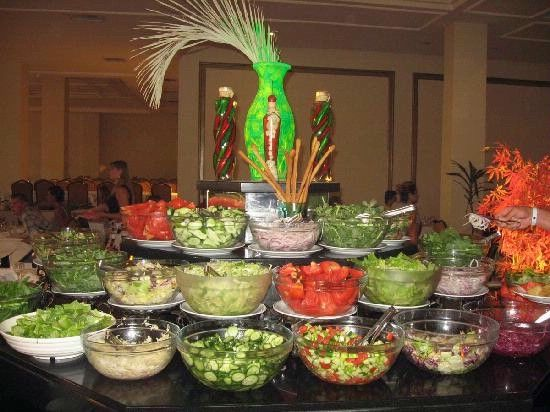 Salad Bar On Pinterest Party Buffet And Wine Bars