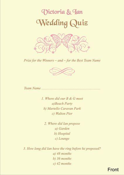 brambles wedding stationery wedding quiz cards wedding ideas Wedding Ideas Quiz brambles wedding stationery wedding quiz cards wedding ideas quiz