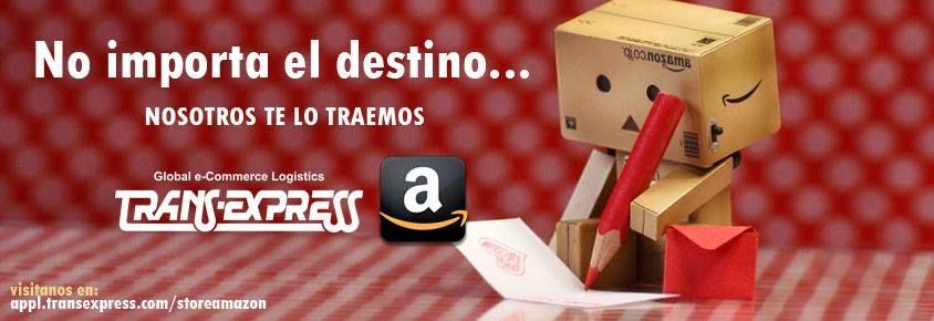 Compra lo que necesites directamente desde nuestra tienda de amazon bajo el siguiente enlace:  http://appl.transexpress.com.sv/storeamazon/
