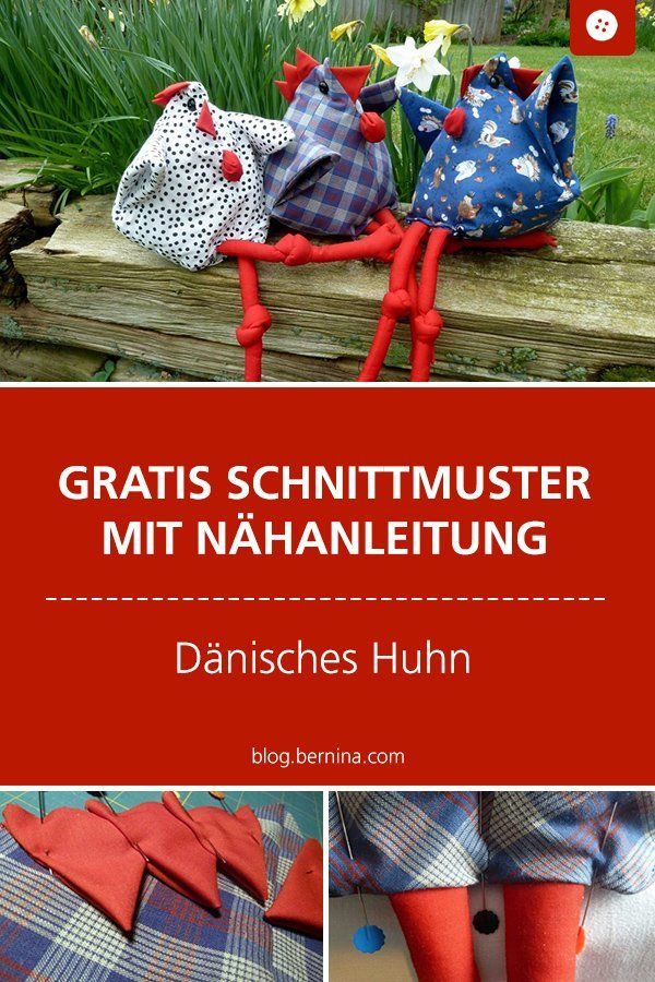 Photo of Sewing instructions for Easter: the Danish chicken »BERNINA Blog