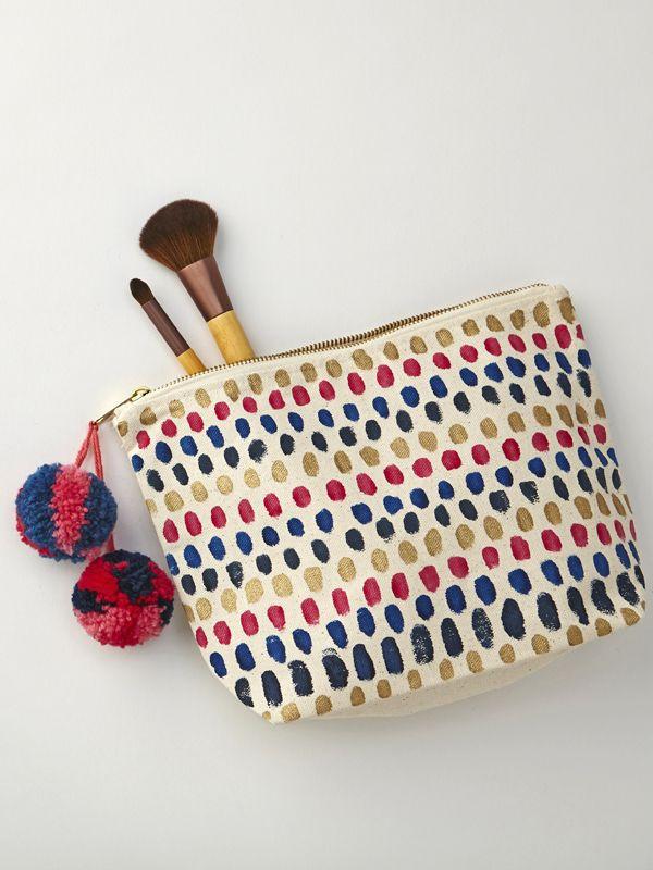 issue 46   Diy makeup bag no sew, Diy sewing pattern, Diy