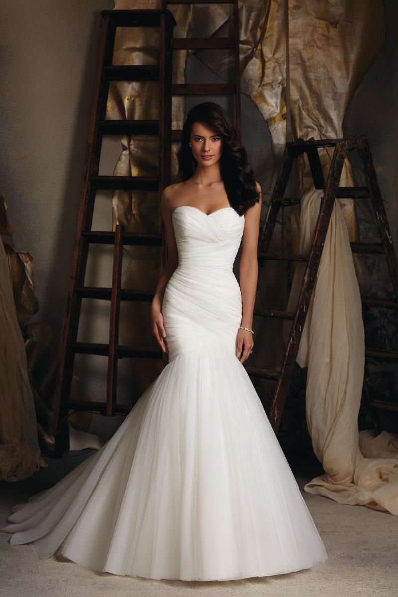 Blu Bridal By Mori Lee Dress 5108 | Terry Costa Dallas Plain But The Top Is