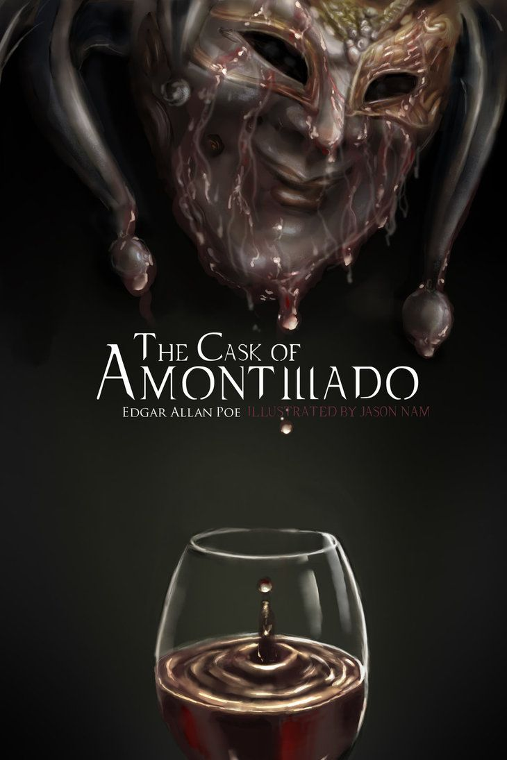 cask of amontillado humor The cask of amontillado by edgar allan poe from plot debriefs to key motifs, thug notes' the cask of amontillado summary & analysis has you covered with themes, symbols, important quotes, and more.