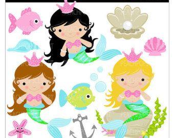 cartoon mermaid clip art mermaid clipart kids clipart panda rh pinterest ph mermaid clipart images mermaid clip art free printable