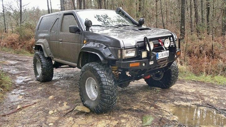 nissan terrano 1 pathfinder 4x4 pinterest nissan 4x4 and offroad. Black Bedroom Furniture Sets. Home Design Ideas