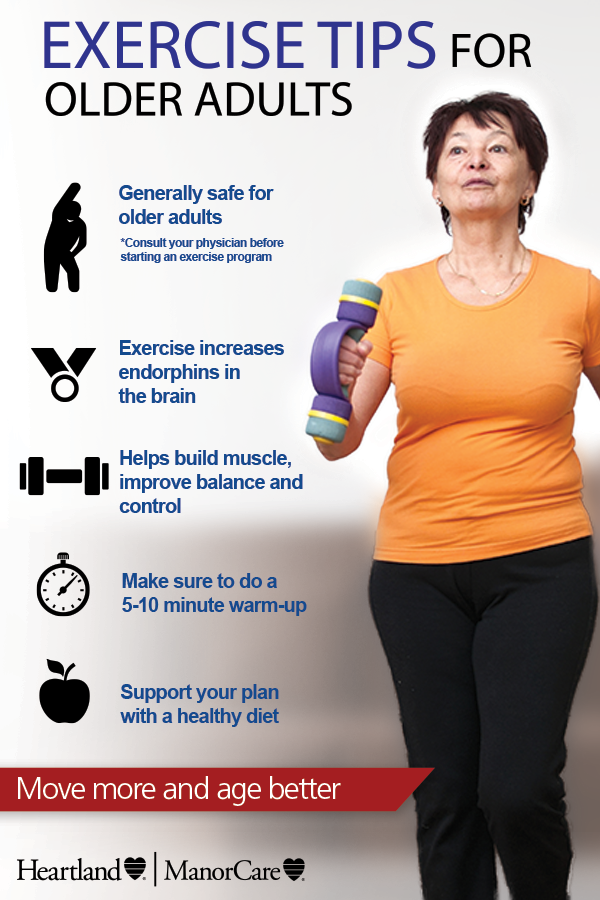 Exercise is important to the human body & mind at every stage of life, but it may be even more significant during our older stages. Learn benefits & tips for #exercising as you age in our blog. #StayingHealthyTips #HealthTip #StayingHealthy #HealthyAging #StayingActive
