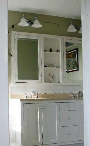 I like the built in medicine cabinet bathroom ideas - Built in medicine cabinets in bathroom ...